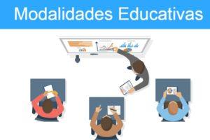 Tipos de modalidades educativas