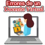 errores docente virtual