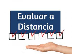 Rubricas para evaluar a distancia