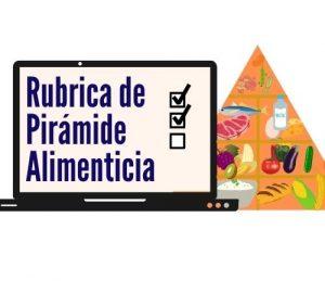 Rubrica de Pirámide Alimenticia