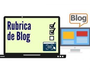 Rubrica para Crear un Blog
