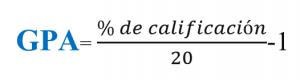 Calcular Gpa